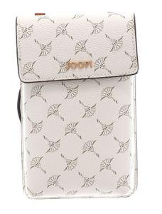 JOOP! Damen Handytasche - Cortina Pippa Phonecase lvf, 10x17x2,5cm (BxHxT), One Size Weiß