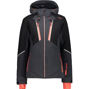 Cmp Woman Jacket Fix Hood U423 Antracite 40
