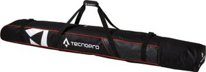TECNOPRO Skisack Cover Carving 2P SCHWARZ/ROT 190