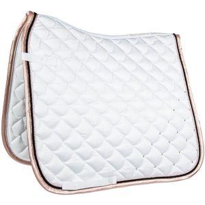 Cavallino Marino Schabracke -Copper Kiss-, Farbe:1200 weiß, Größe:Dressur