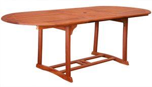 KMH® ausziehbarer Gartentisch 180-230*100Eukalyptus