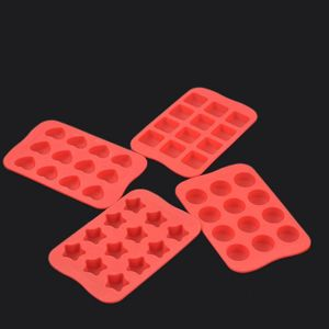 4x Küche Backenwerkzeuge 12 Silikon Backformen Puddingform
