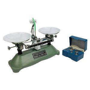 100 Gramm Präzise Schulwaage Balancewaage mit Gewichten Set