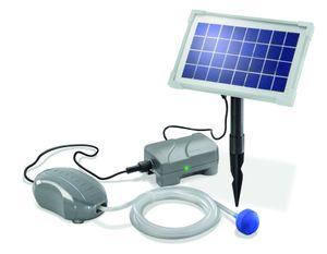 Esotec 101872 Solar Teichbelüfter AIR-PLUS mit Solarmodul und Pumpe