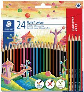 STAEDTLER Buntstift Noris Colour WOPEX 24er Kartonetui