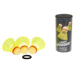 Speed Badminton 400224 - Speedertube 3er Nightpack 4260030782246