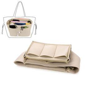Handtaschen Organizer Taschenorganizer mit Fächer Geldbeutel-Einsatz Bag in Bag Handtaschenordner