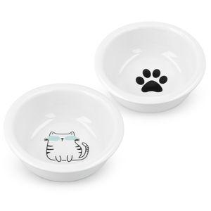 2x Futternapf Katze Keramik
