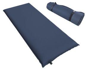 Kronenburg Isomatte selbstaufblasend 200 x 66 x 10 cm Luftmatratze Luftbett in Blau