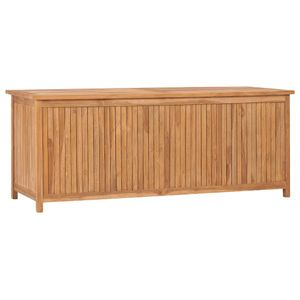 vidaXL Gartenbox 150x50x58 cm Massivholz Teak