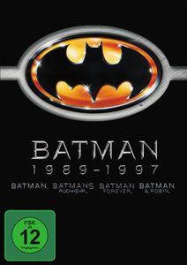 Batman 1989-1997 [4 DVDs]