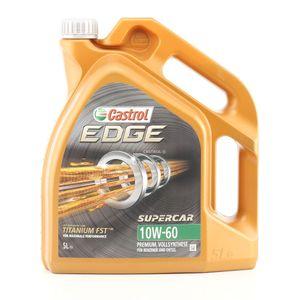 5 Liter CASTROL 10W-60 EDGE Supercar API SN ACEA A3/B3 API CF ACEA A3/B4 VW 501 01 VW 505 00