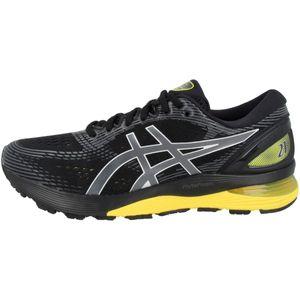 asics Gel-Nimbus 21 Herren Sneaker Schwarz Schuhe, Größe:46