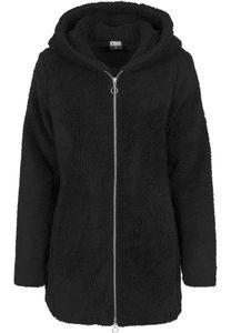 Urban Classics Damen Ladies Sherpa Jacket TB1755, color:black, size:L