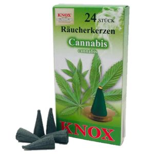 Knox Cannabis Räucherkerzen - 24 Stk. Größe M