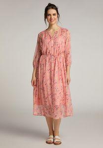 MUSTANG Damen Kleid Maxikleid Regular Fit Farbe: pink Größe: 38