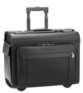 d & n Business & Travel Pilotenkoffer 46cm auf Rollen