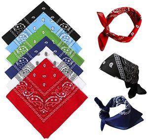 12er Set Paisley Western-Stil Kopftuch Bandana Set von Großes Schal Set für Frauen, Männer und Kinder -Bandanas als Halstuch, Taschen, Hunde und Mode-Accessoires 100% Baumwolle