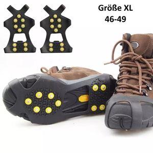 Anti-Rutsch Schuhspikes EU 46-49 (XL), Eiskrallen, Schuhkrallen, Gleitschutz, Spikes für Schuhe