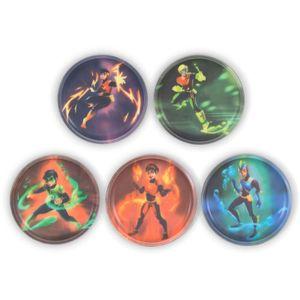 Ergobag Klettie-Sets (5-tlg.) Superhelden