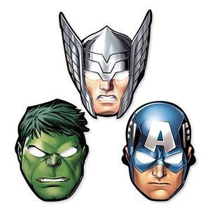 Marvel Avengers - Papier Masken (Hulk, Captain America und Thor)