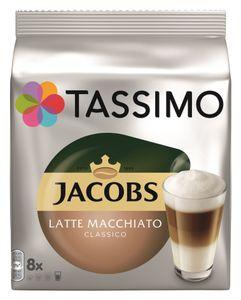 Tassimo Jacobs Latte Macchiato Classico 8er Pack, 264 g Packung
