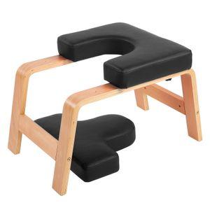 Yogahocker Kopfstand Stuhl Kopfstandstuhl Headstander Yogastuhl Yoga Kopfstandhocker bis150 kg Fitness PUKisse 60x40x40cm
