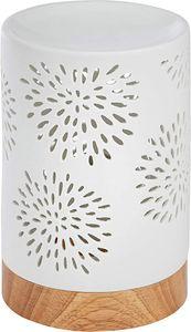 ONVAYA® Duftlampe | Elektrisch | Farbe: Creme weiß | Aroma Diffuser | Aromalampe | Duftstövchen | Modernes Duftlicht | Modell Bianca