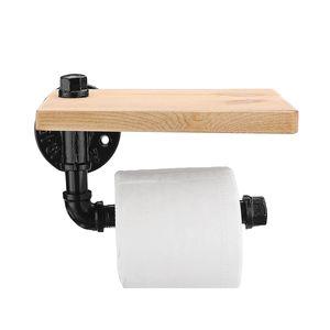Meco Toilettenpapierhalter Klopapierhalter WC Rollenhalter Papierhalter Mit Ablage