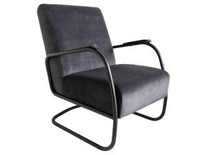 Spinder Design Retro Sessel - Anthrazit