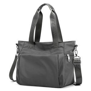 Multifunktionale Frauentasche Nylonhandtasche mit großer Kapazität Mumientasche Umhängetasche LYH91223411GY