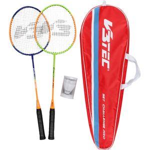 V3TEC Challenge Pro Badmintonset mehrfarbig
