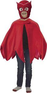 Disney verkleedpak PJ Masken Owlette rot Kostüme