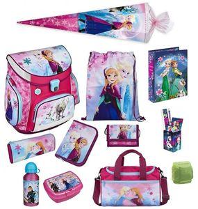 Disney Die Eiskönigin Schulranzen Set 17tlg. Sporttasche Schultüte Scooli Campus