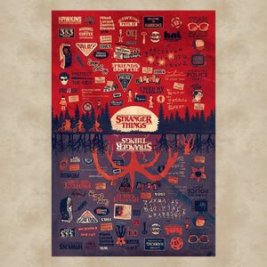 Pyramid Stranger Things The Upside Down Poster 61x91.5cm.