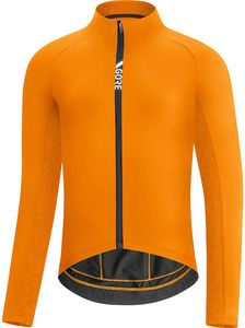 GORE Wear Thermo Fahrrad-Trikot Funktionsjacke Orange - Herren, Größe:M
