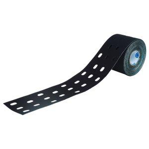 Cure Tape Punch, Kinesiologielogie Tape, Sporttape, 5 m x 5 cm, wasserfest, schwarz