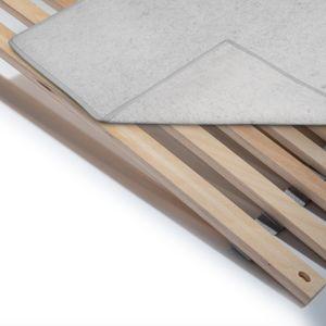 Matratzenunterlage in verschiedenen Größen - Atmungsaktiver Matratzenschoner - Schützender Filzschoner für Lattenrost und Matratze - Zuverlässiger Schutz gegen Mechanische Beanspruchung. Größe: 120 x 200 cm