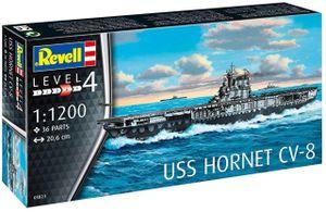 Revell Modellbausatz Schiff USS Hornet Cv-8 1:1200
