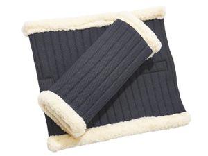 BUSSE Bandagen-Unterlagen KLETT-FUR, schwarz, 33x38