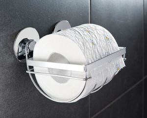 TurboFIX Edelstahl Toilettenpapierhalter
