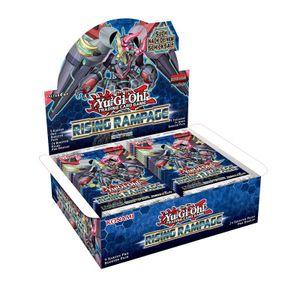 Yu-Gi-Oh! Rising Rampage 1 Boosterpack mit 9 Karten