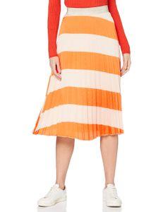 Comma Röcke lang Damen ROCK KURZ Größe 40, Farbe: 14S4 14S4 Diagonale Strip