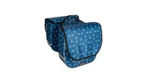 Haberland Kinder Doppel- Tasche Trendy,Blau/Anker
