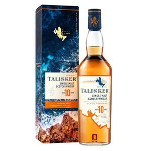 Talisker 10 Jahre Single Malt Scotch Whisky in Geschenkpackung | 45,8 % vol | 0,7 l