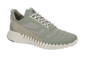 ECCO Herren Sneaker Sneaker Low Leder-/Textilkombination grün 43
