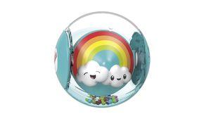 Fisher-Price Regenbogen-Ball, Baby-Spielzeug, Rassel, Baby Ball, Krabbel-Spielzeug