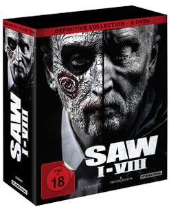 BOX SAW I-VIII  Definitive Collection (8DVDs)