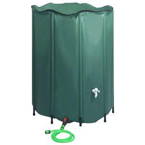 vidaXL Regenwassertank Faltbar mit Hahn 1250 L