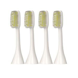 Silk'n ToothWave weiche große Ersatzaufsteckbürsten, lange Bürstenköpfe 4 Stück - soft